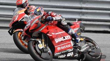 MotoGP: Dovizioso attacca la vetta Marquez: una scalata senza ossigeno