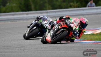 MotoGP: Brno nera per Aprilia: Espargarò e Iannone fuori dai punti