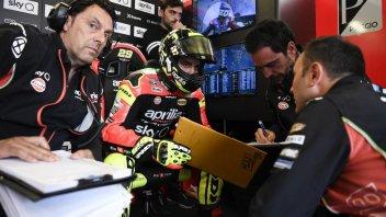 """MotoGP: Iannone: """"Io e l'Aprilia dovremo sempre essere in lotta per la top ten"""""""