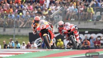 MotoGP: Dovizioso batte Lorenzo, Marquez a un podio da Agostini