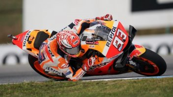 MotoGP: Marquez humiliates everyone to score Brno pole, Rossi 7th