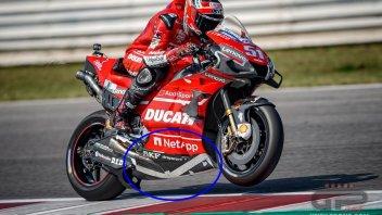 """MotoGP: Ducati con vista 2020: Pirro in pista con una carena a """"V"""""""