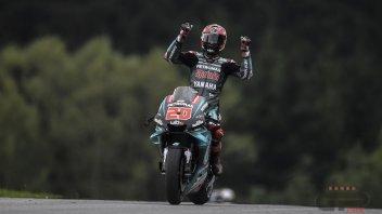 """MotoGP: Quartararo: """"Ho capito quanto è difficile stare al comando"""""""