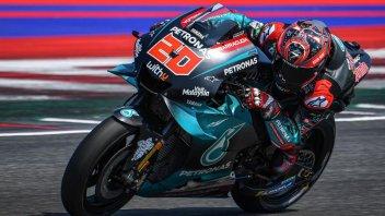 MotoGP: Test Misano. È dominio Yamaha: 1° Quartararo, 5° Rossi
