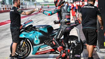 "MotoGP: Quartararo, from hell to heaven: ""I'm fine and I'm already going fast."""