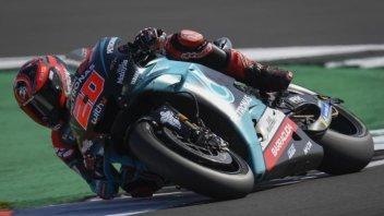 MotoGP: WUP: Riscossa Quartararo, 1° davanti a Marquez, 4° Rossi