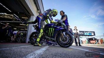 MotoGP: Test a Misano: Rossi spera nel futuro, Dovizioso torna in sella
