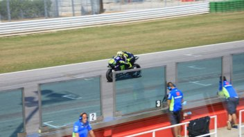 MotoGP: Yamaha at Misano with a new carbon swingarm