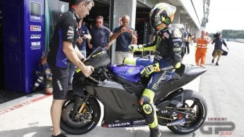 MotoGP: The Yamaha 2020 for Valentino Rossi on track in the Brno test!