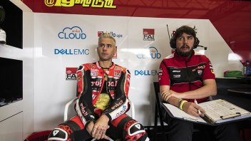 "SBK: Bautista: ""Slow on the flying lap, but fast on the pace"