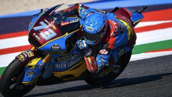 Moto2: FP3: Di Giannantonio mette pressione a Marquez a Misano