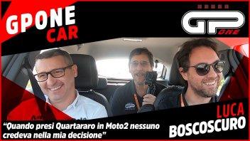 """Moto2: Boscoscuro nella GPoneCar: """"Quartararo? Nessuno ci credeva, tranne me"""""""