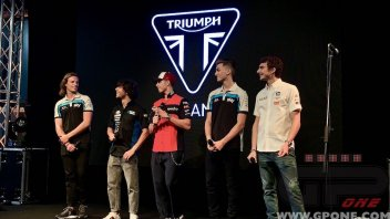 """Moto2: Marini: """"Lo dice anche Vale, il motore Triumph ci avvicina alla MotoGP"""""""