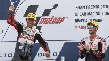 """Moto3: Suzuki: """"In Italia ho trovato un'altra famiglia, quella Simoncelli"""""""