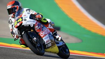 Moto3: FP1: Suzuki ci prende gusto, è primo anche ad Aragon
