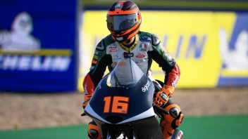 Moto3: FP2: Ad Aragon comanda Migno