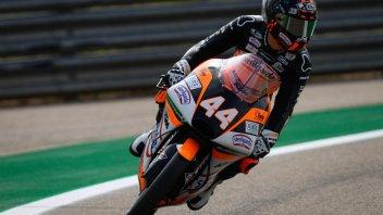 Moto3: Canet alza la voce e si prende la pole, 5° Vietti