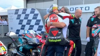 "Moto3: Simoncelli: ""Suzuki? I believe in fate and I'd like to hug Marco again."""