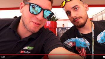 MotoE: Freccia Verde e Spavald: due youtuber alla scoperta della MotoE