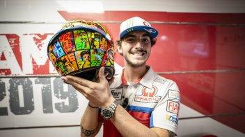 MotoGP: Bagnaia: per Misano un casco dedicato alle sue due famiglie