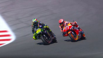 MotoGP: Caos Rossi e Marquez in qualifica: ecco il video dell'episodio