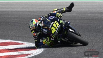 "MotoGP: Rossi: ""Marquez is happy he beat a dangerous rival."""