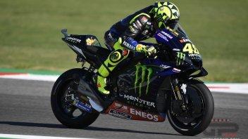 """MotoGP: Rossi: """"Vedere le Yamaha veloci è una sorpresa anche per me"""""""