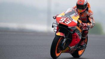 MotoGP: Marquez, Dovizioso e Rins i migliori 'staccatori' di Misano