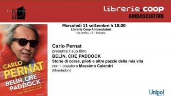MotoGP: Carlo Pernat e Belin che paddock in libreria a Bologna