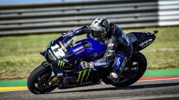 MotoGP: Vinales e la Yamaha si prendono il warmup, 5° Rossi
