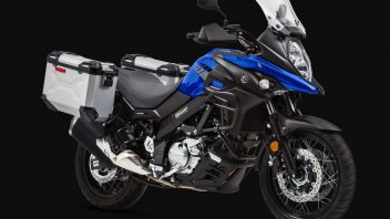 News Prodotto: Suzuki V-Strom 650: presentati i colori dei modelli 2020