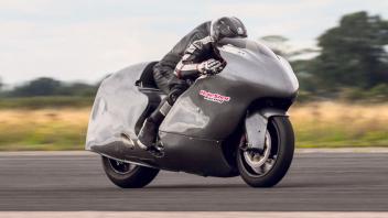 News Prodotto: Guy Martin mette il turbo e vola a 436 Km/h con una Hayabusa