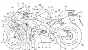 News Prodotto: Honda come Porsche: alette mobili sulla prossima Fireblade?
