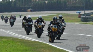 News: Le Moto Guzzi V7 infiammano la pista di Adria