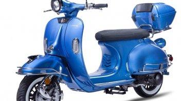 Scooter: Vespa: scooter cinese Ves non è un plagio