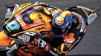 Moto2: Pole position di Navarro nel caos di Phillip Island, 3° Marini