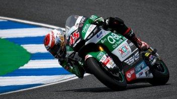 Moto2: FP1: Nagashima il più veloce, 3° Marini