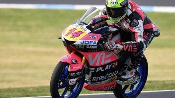 Moto3: FP3: Arbolino ci prova ma non basta, passerà dal Q1