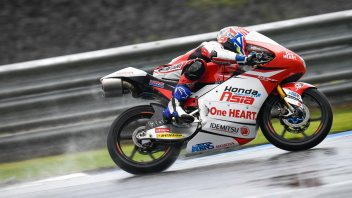 Moto3: FP3: Ogura profeta in patria sul bagnato di Motegi