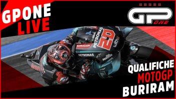 MotoGP: Buriram, LIVE qualifiche: Quartararo cade ma la pole è sua, Vinales 2°