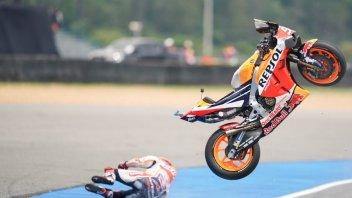 """MotoGP: Marquez: """"La caduta è stata causata da un mio errore"""""""