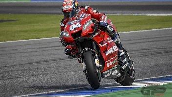 MotoGP: FP3 Buriram, Dovizioso, azzarda la slick, 1° davanti a Morbidelli