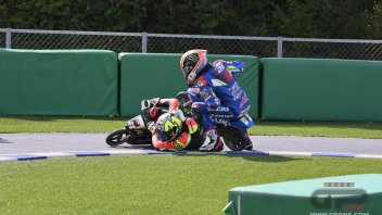 MotoGP: Small bikes and big battles: MotoGP riders go back to childhood