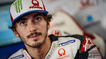 """MotoGP: Bagnaia: """"Sono meno distante dai migliori di quanto sembri"""""""