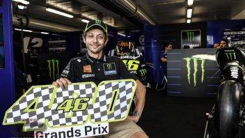"""MotoGP: Rossi al GP n°400: """"Ho fatto cose che resteranno nel cuore dei tifosi"""""""