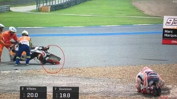 MotoGP: Marquez's unusual crash: cold tyre or a mechanical issue?