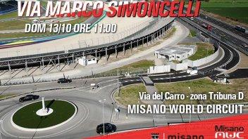 MotoGP: Domenica a Misano verrà inaugurata via Marco Simoncelli