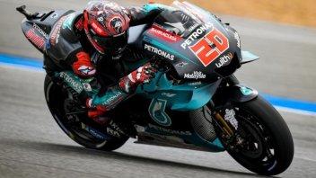 MotoGP: El Diablo Quartararo 'tenta' Marquez che sbaglia: 4^ pole stagionale