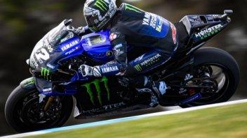 MotoGP: FP2: Vinales fa volare la Yamaha a Phillip Island, 2° Dovi, 7° Rossi