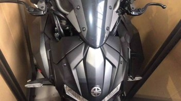 News Prodotto: Le foto rubate della Kawasaki Z-H2, la Naked sovralimentata di Akashi